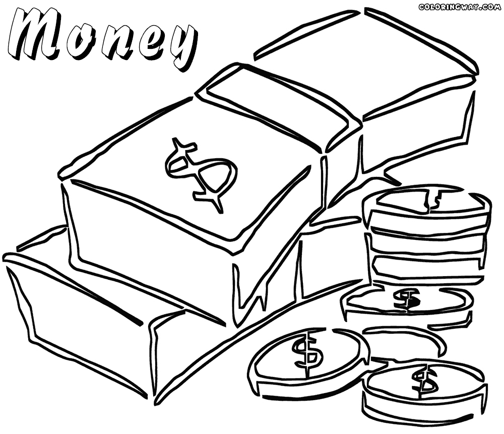 printable money coloring pages money coloring page coloring home coloring printable pages money