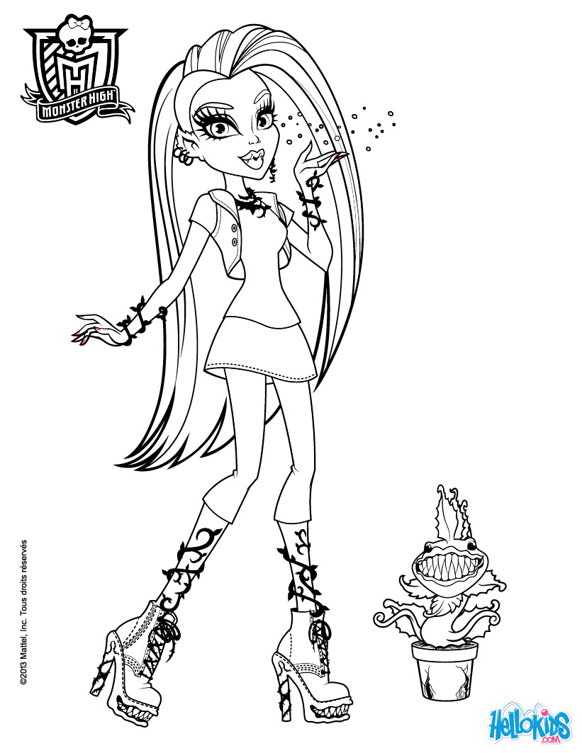 printable monster high coloring pages 13 monster high coloring pages printable print color craft printable monster pages high coloring