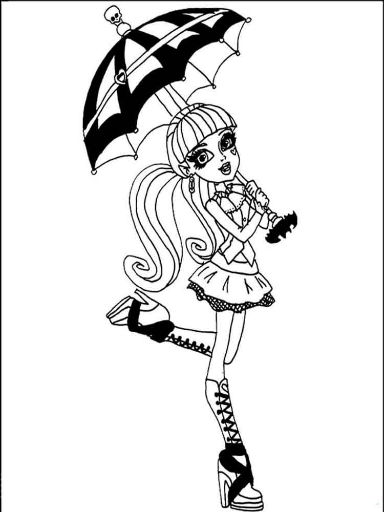 printable monster high coloring pages monster high coloring pages download and print monster pages high printable monster coloring