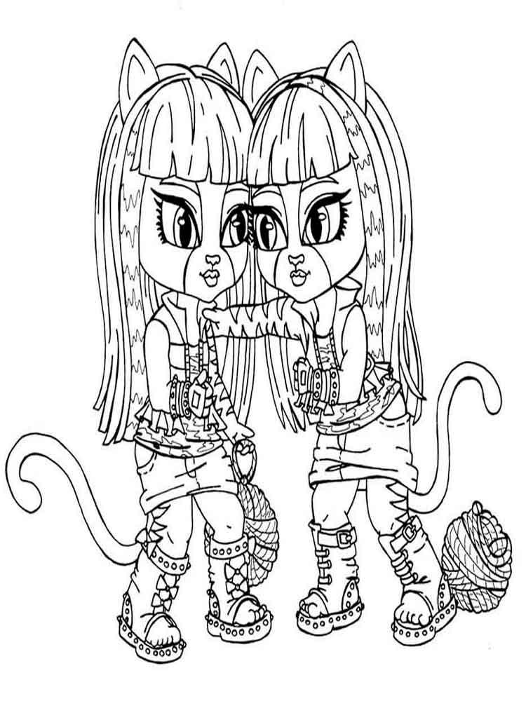 printable monster high coloring pages monster high coloring pages printable pages high monster coloring
