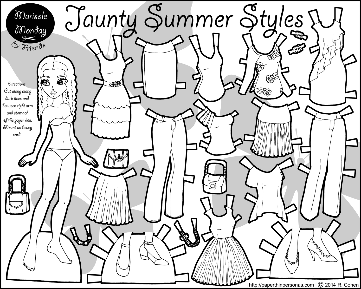 printable paper doll free printable paper dolls to color paper thin personas printable paper doll