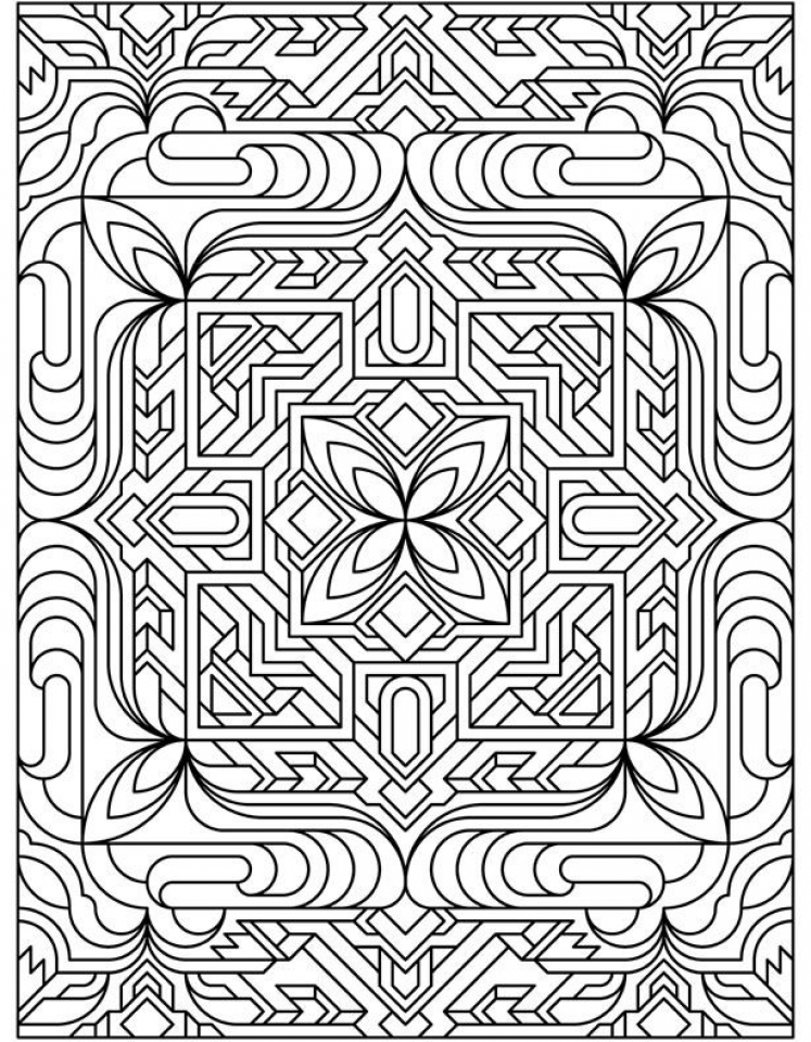 printable pattern coloring pages aztec pattern coloring page free printable coloring pages pattern coloring pages printable