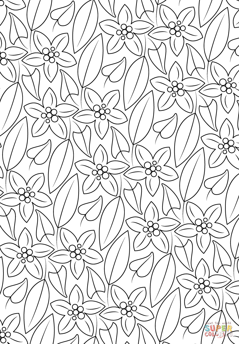 printable pattern coloring pages floral pattern coloring page free printable coloring pages coloring pages printable pattern