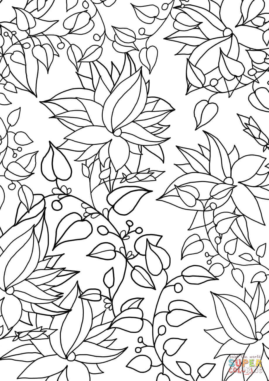 printable pattern coloring pages floral pattern coloring page free printable coloring pages pattern coloring pages printable