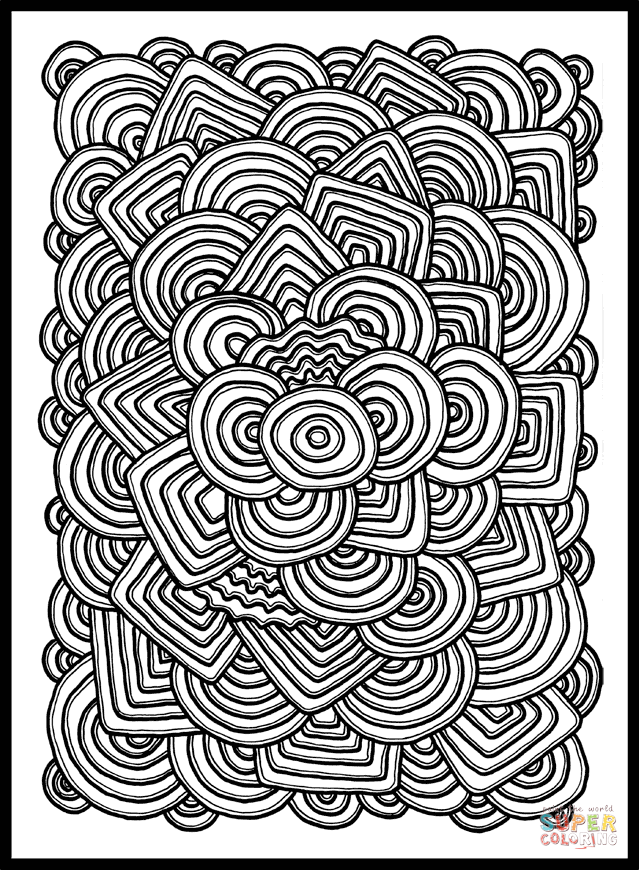 printable pattern coloring pages flower pattern coloring page free printable coloring pages pages printable pattern coloring