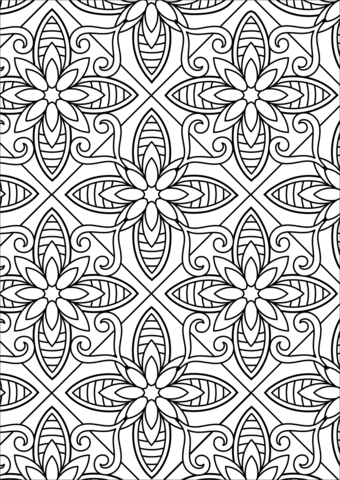 printable pattern coloring pages printable adult colouring page digital download print flower pattern pages printable coloring