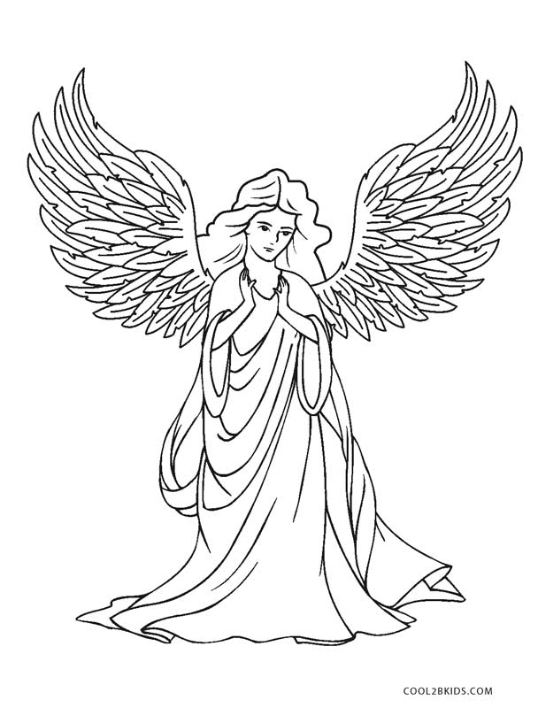 printable pictures of angels 12 free printable christmas coloring pages the graphics angels of printable pictures
