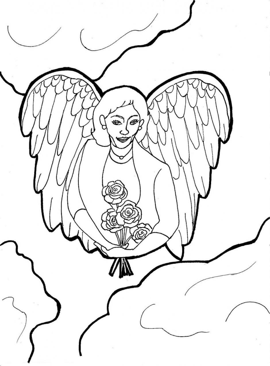 printable pictures of angels christmas angel drawing at getdrawings free download printable of angels pictures