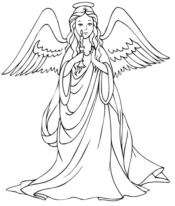 printable pictures of angels dark angel coloring pages at getcoloringscom free angels of printable pictures