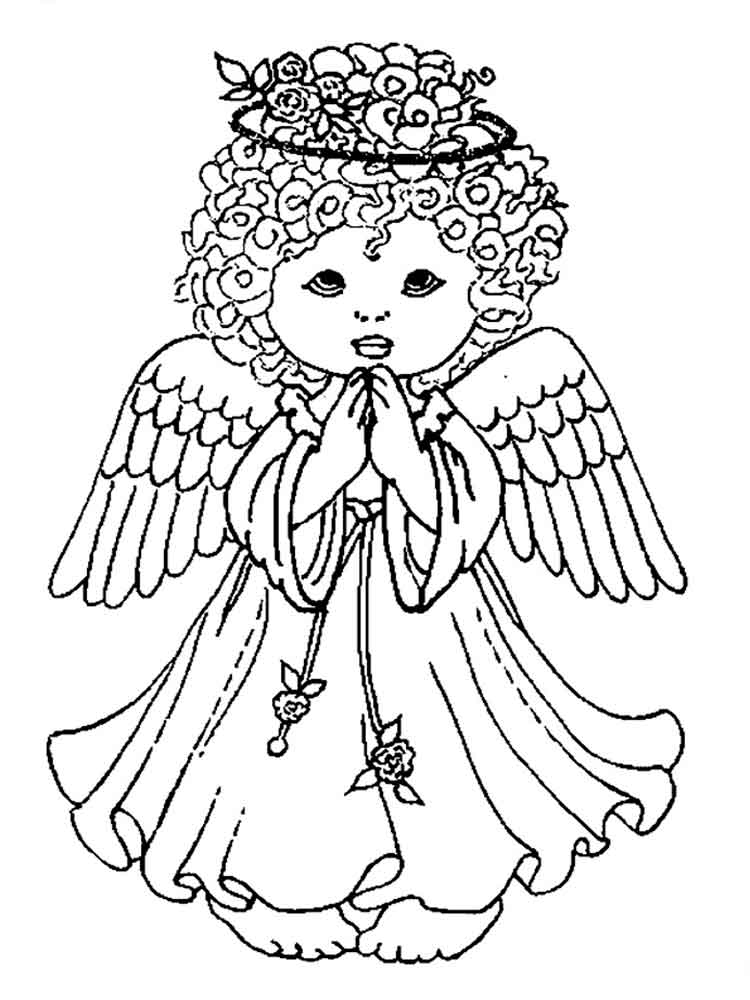 printable pictures of angels free printable angel coloring pages for kids angels pictures of printable