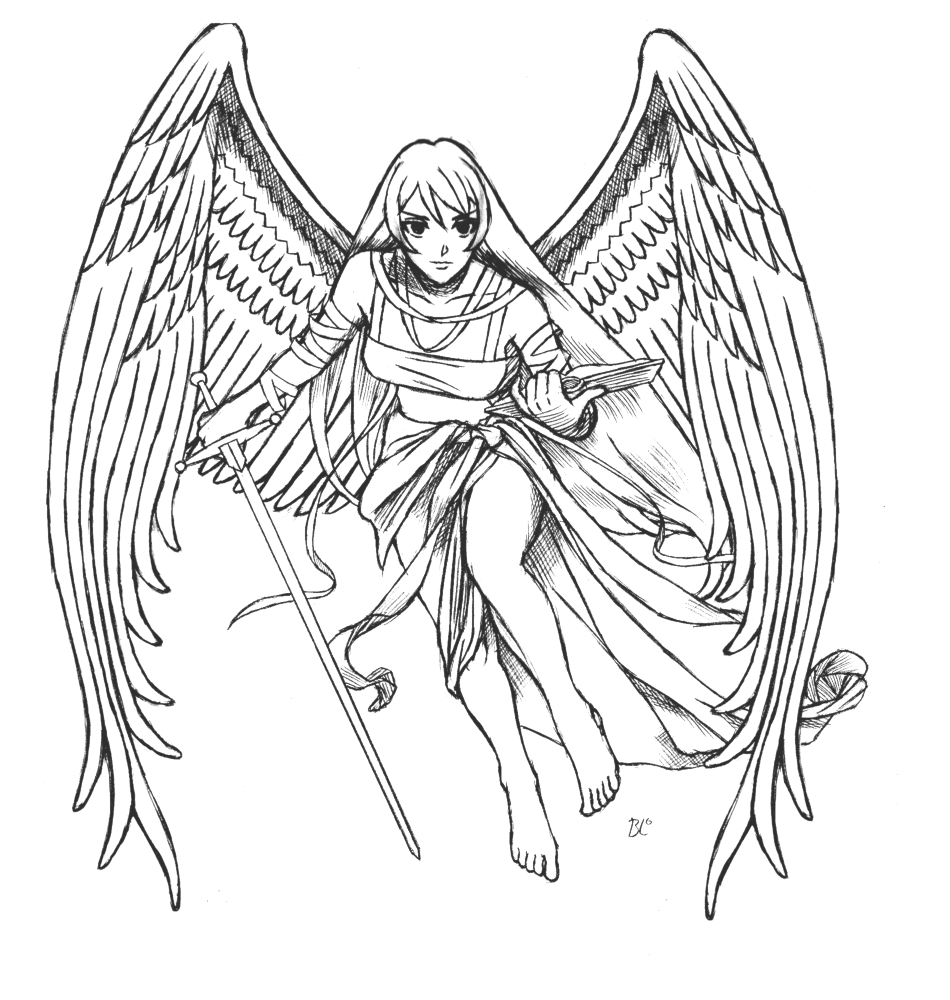 printable pictures of angels free printable angel coloring pages for kids angels pictures printable of