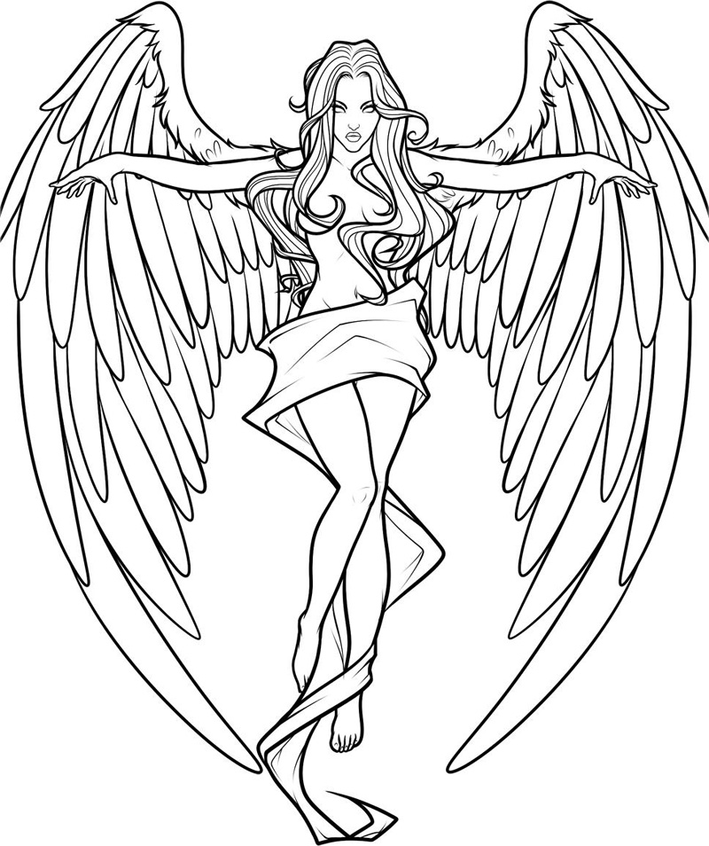 printable pictures of angels free printable angel coloring pages for kids of printable angels pictures
