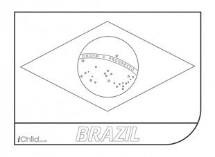 printable pictures of brazil flag brazil flag coloring sheet flag coloring pages american printable pictures brazil of flag