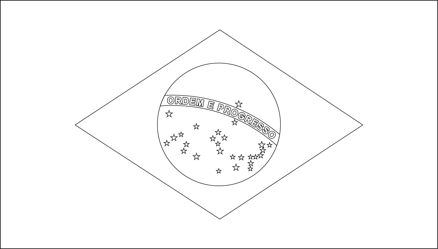 printable pictures of brazil flag download brazil flag coloring page coloring wizards of flag printable brazil pictures