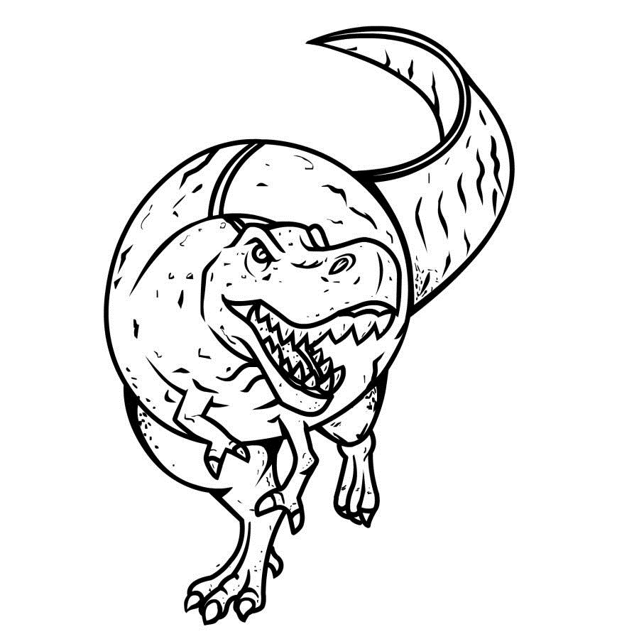 printable pictures of dinosaurs funny dinosaur triceratops cartoon coloring pages for kids printable pictures dinosaurs of