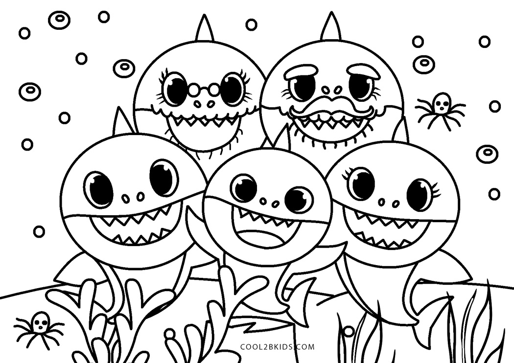 printable shark pictures baby shark halloween coloring pages printable shark pictures