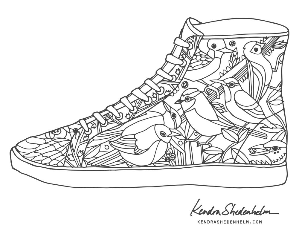 printable shoes easy tennis shoes coloring pages to printable coloring printable shoes
