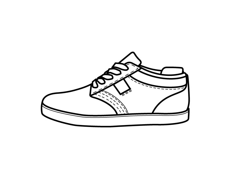printable shoes shoe coloring pages to download and print for free printable shoes