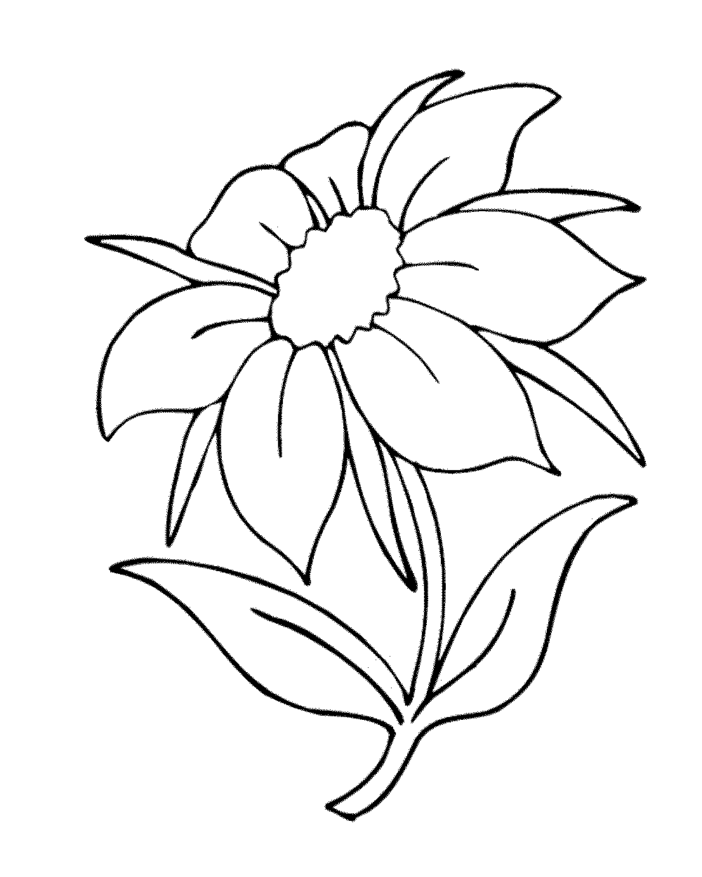 printable simple flower coloring pages flower coloring pages part 3 pages simple coloring printable flower