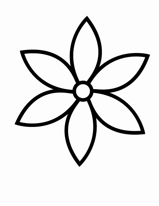 printable simple flower coloring pages flower coloring pages simple fresh flowers printable flower simple coloring printable pages