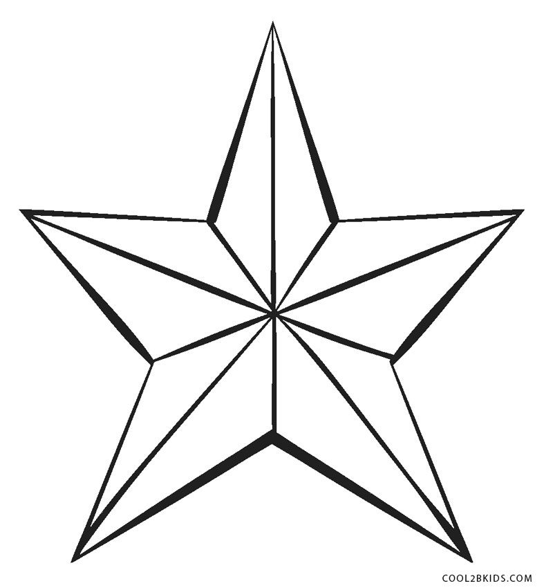 Printable star pictures