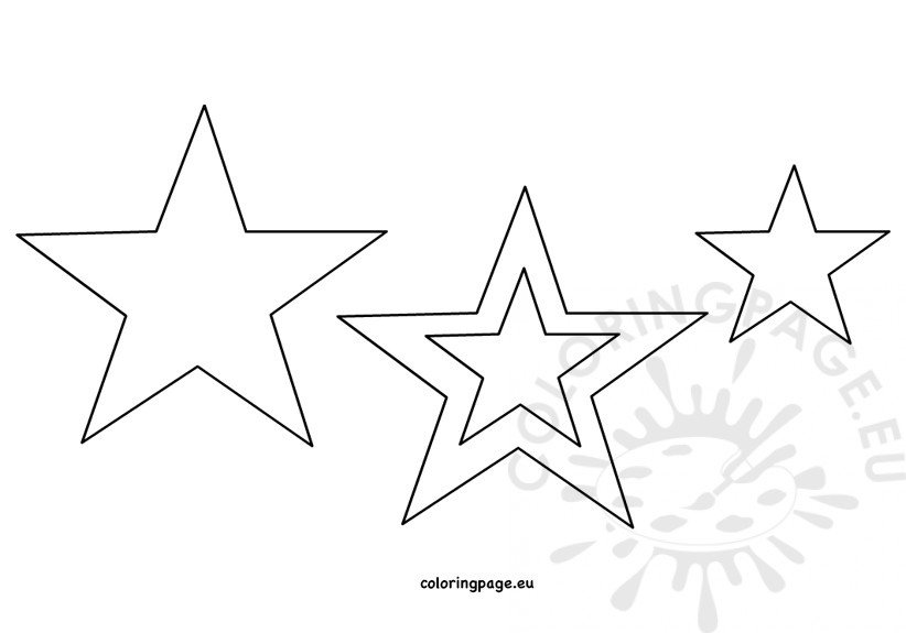 printable star pictures free printable star coloring pages for kids star printable pictures 1 1