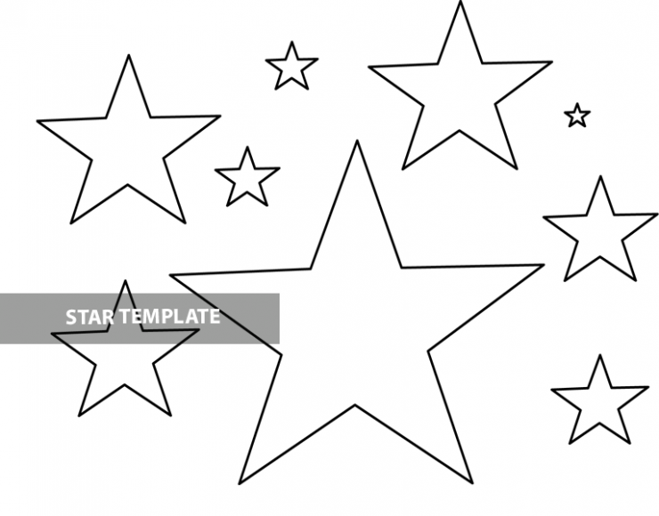 printable star pictures free printable star template coloring page star printable pictures