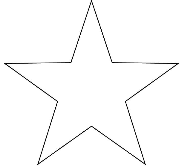 printable star pictures revisited star cut out printable template red white pictures printable star
