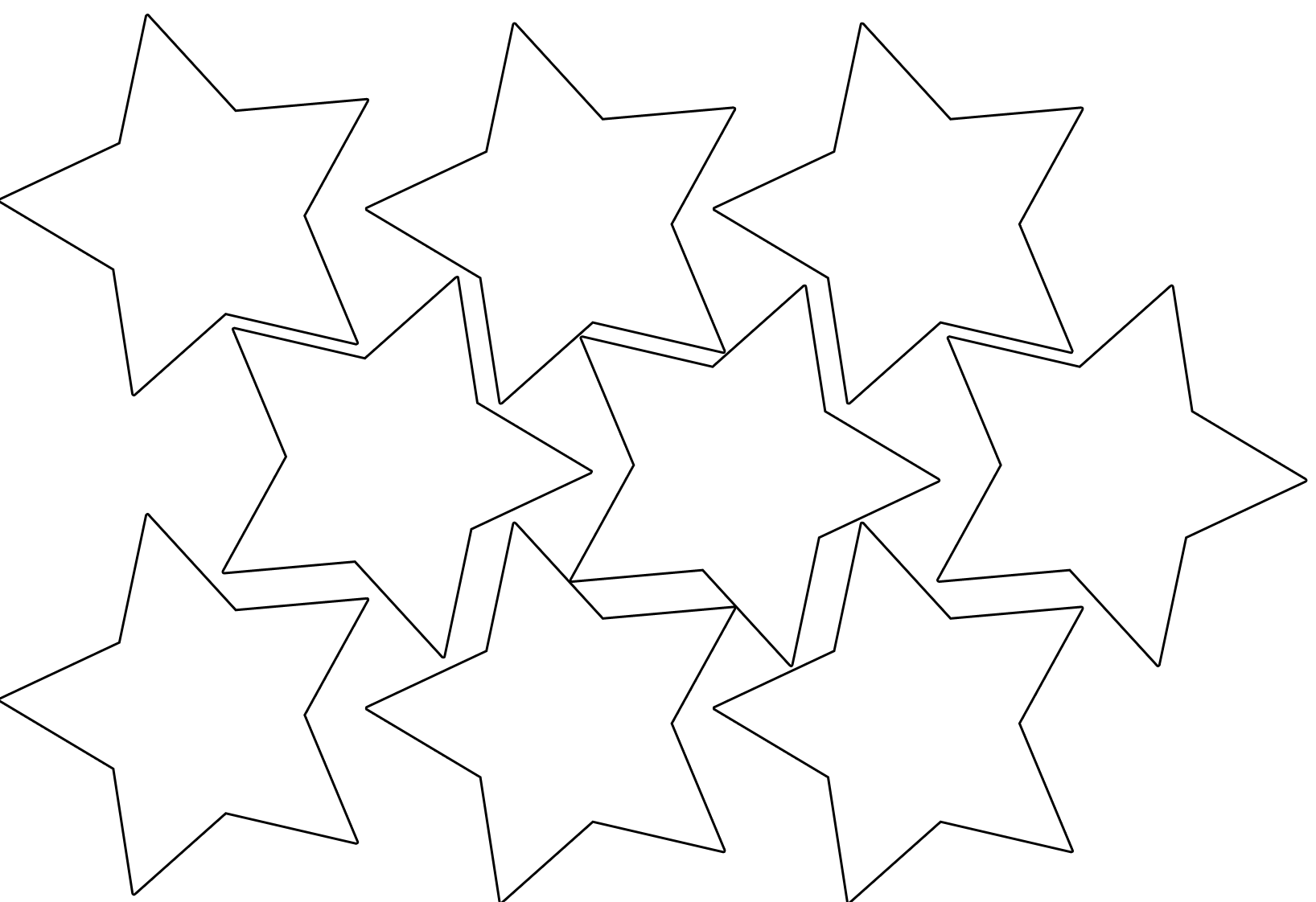 printable star pictures star coloring pages for childrens printable for free star printable pictures