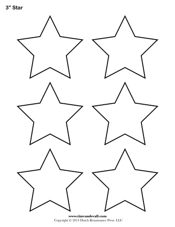 printable star pictures star template 3 inch tim39s printables pictures printable star