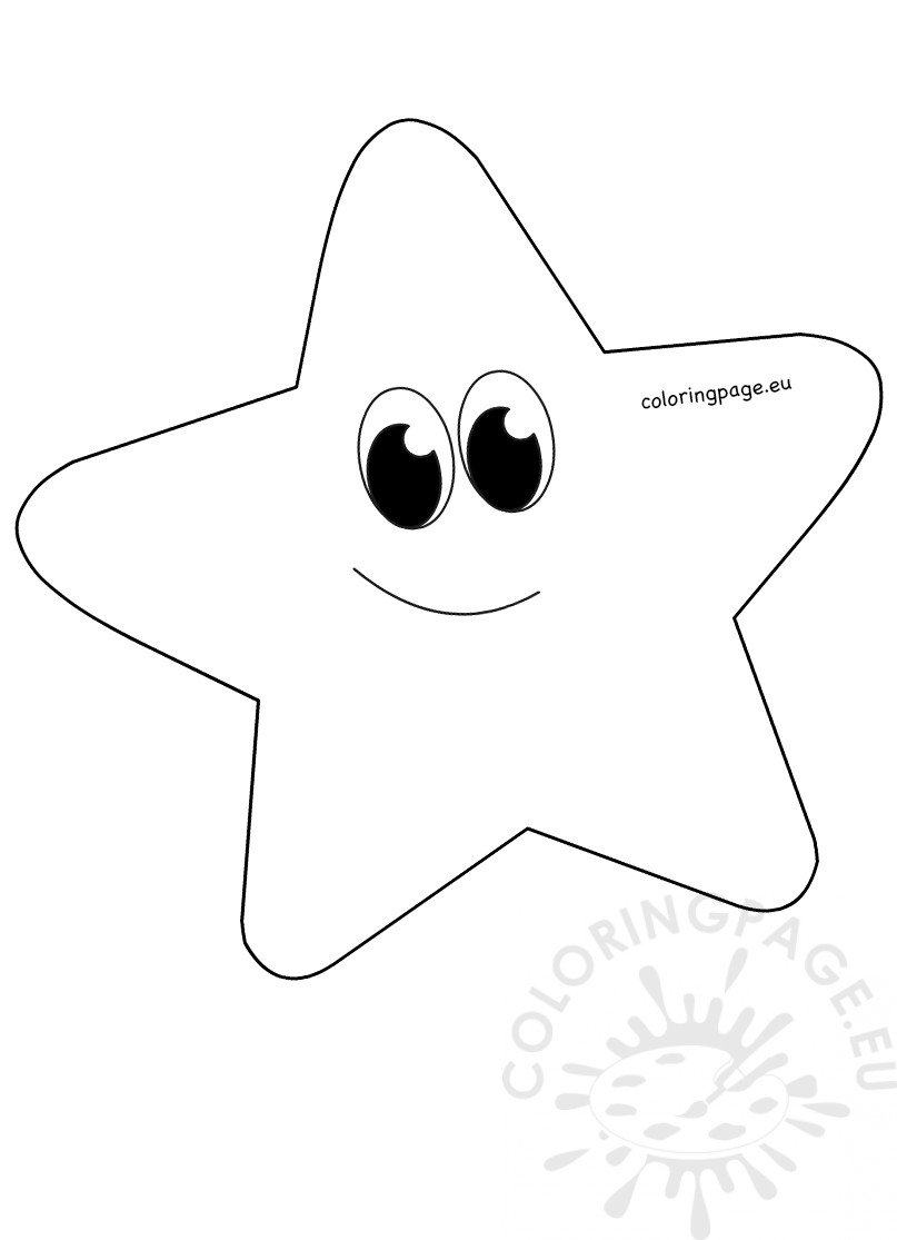 printable star pictures whimsical cartoon star clipart printable coloring page pictures printable star
