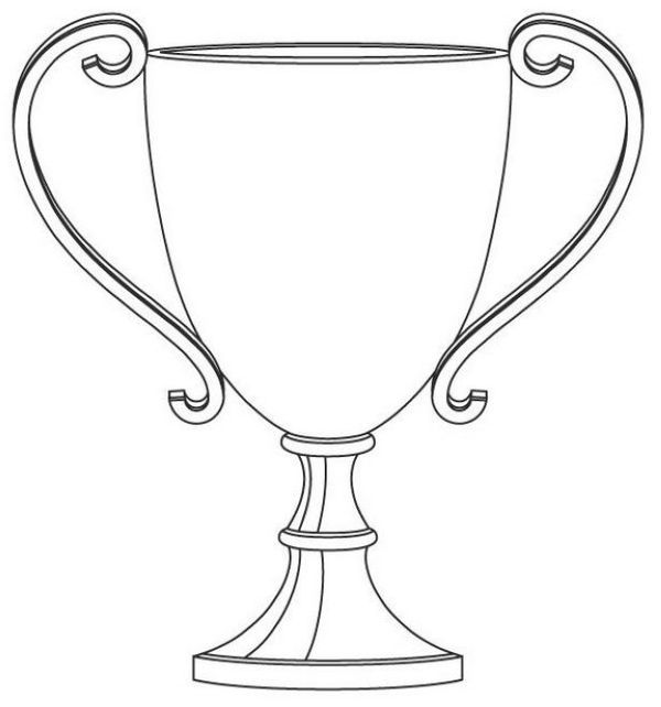 printable trophy free trophy coloring pages printable coloring pages printable trophy