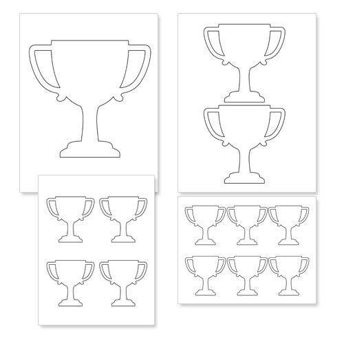 printable trophy trophy coloring page getcoloringpagescom printable trophy