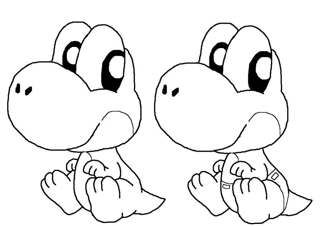 printable yoshi coloring pages 11 baby yoshi coloring pages for kids print color craft printable yoshi coloring pages
