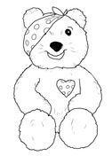 pudsey bear colouring in children in need in need and colouring sheets on pinterest pudsey bear colouring in
