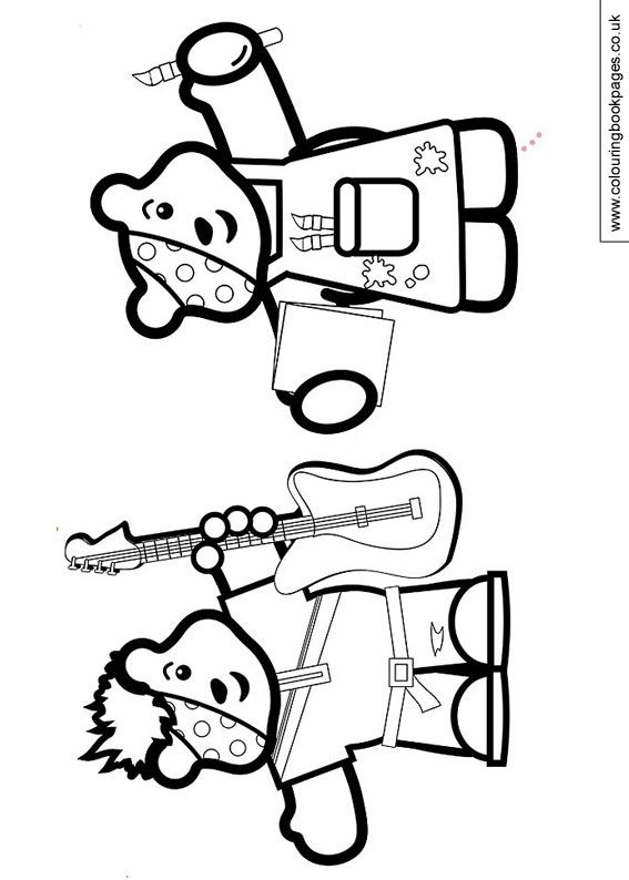 pudsey bear colouring in coloring pages pudsey bear and blush printable in colouring bear pudsey