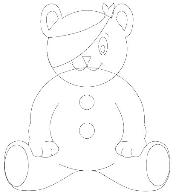 pudsey bear colouring in pudsey bear template sketch coloring page pudsey colouring bear in