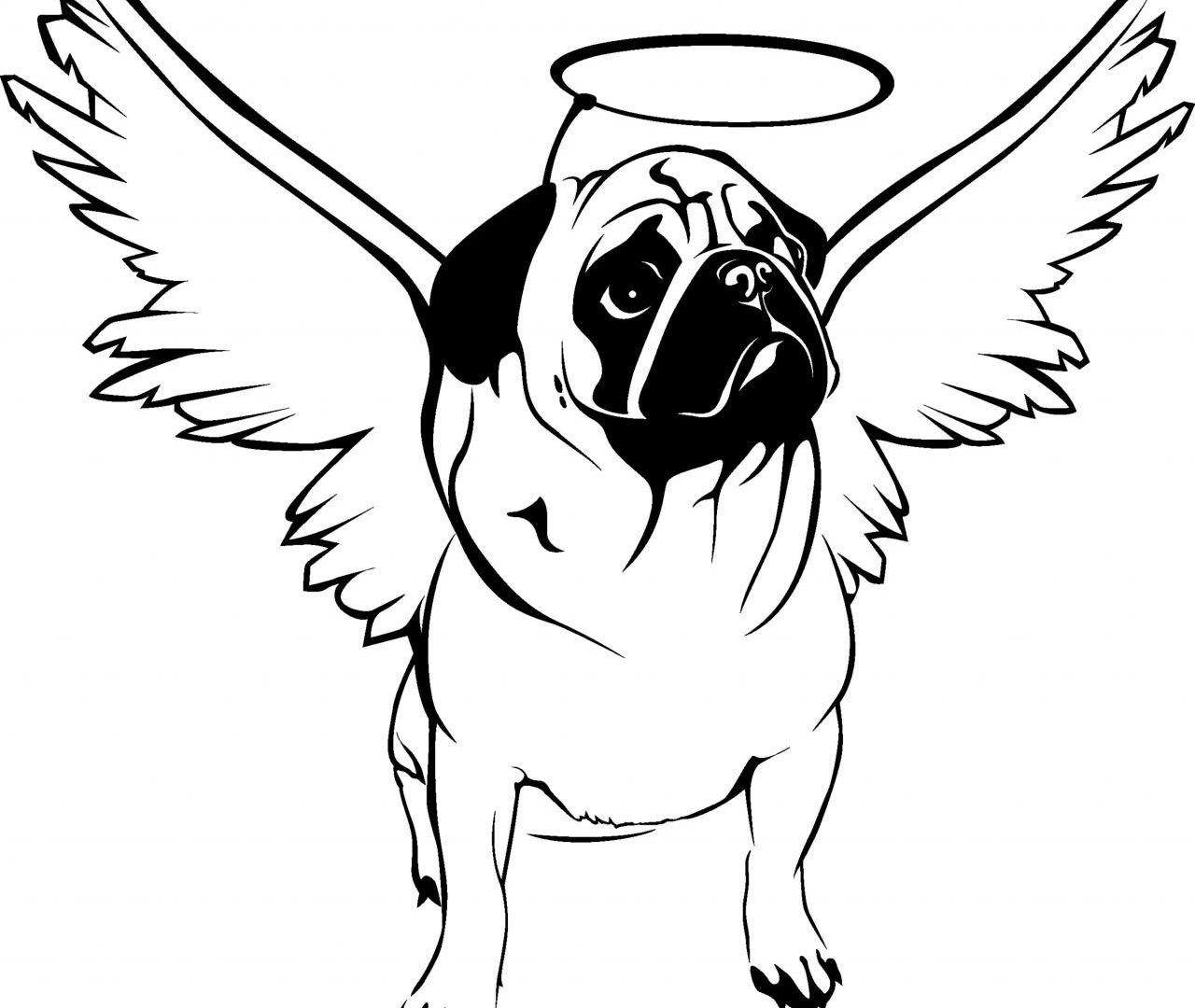 pug puppy coloring pages adult coloring pages pug at getdrawings free download pages puppy coloring pug
