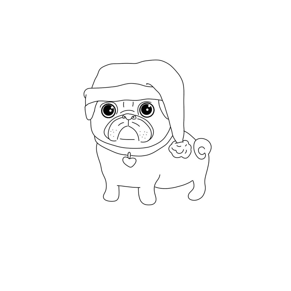 pug puppy coloring pages pug coloring pages best coloring pages for kids puppy coloring pages pug