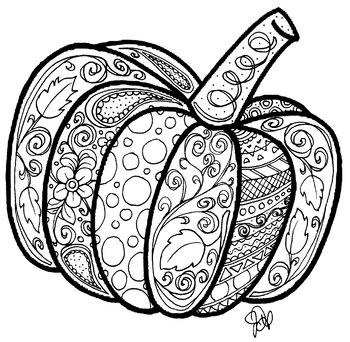pumpkin colouring page pumpkin coloring page by honedoodles teachers pay teachers page pumpkin colouring