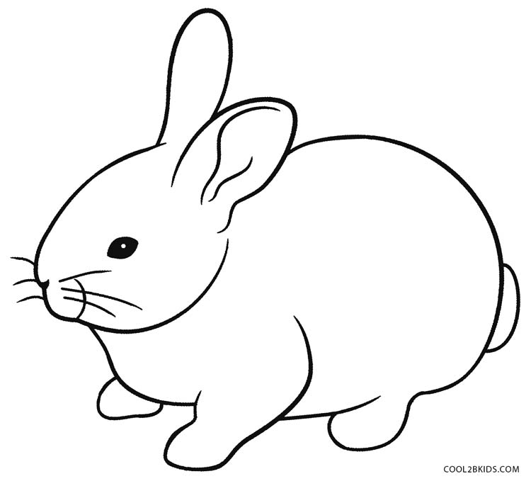 rabbit coloring image bunny rabbit coloring pages to download and print for free rabbit image coloring