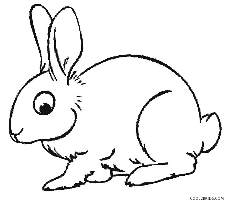 rabbit coloring image get this baby bunny coloring pages for toddlers 68031 coloring rabbit image