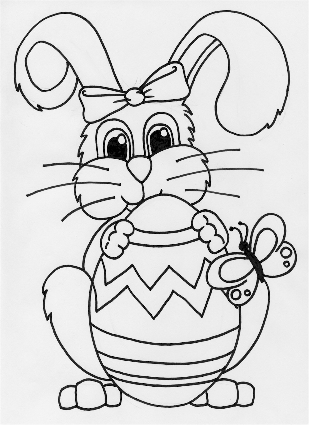 rabbit pictures for kids for colouring hopping bunny is smiling coloring pages kids play color rabbit for kids colouring for pictures