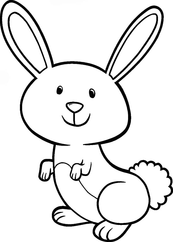 rabbit pictures for kids for colouring rabbit to color for children rabbit kids coloring pages kids for for colouring pictures rabbit