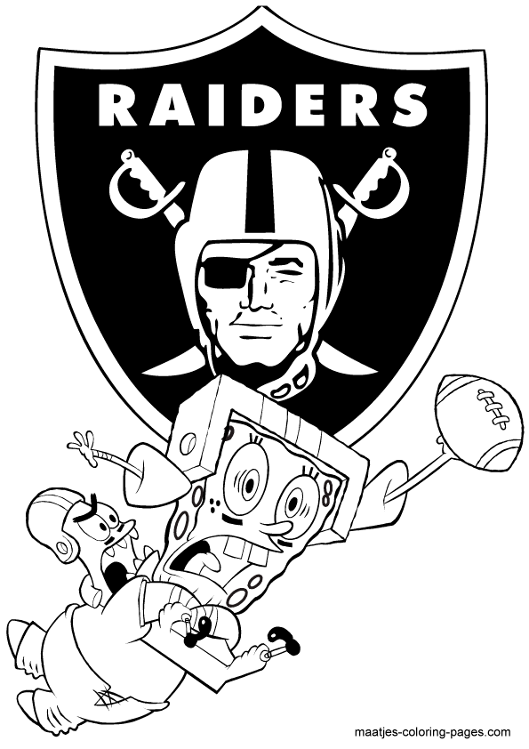 raiders coloring pages nfl oakland raiders coloring page coloring page central pages coloring raiders