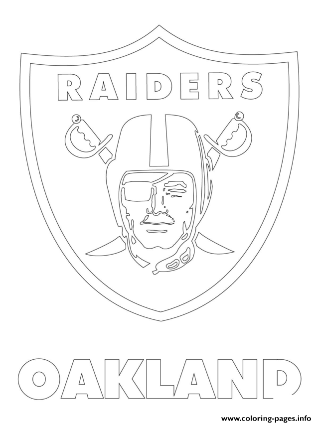 raiders coloring pages oakland raiders coloring pages at getdrawings free download pages raiders coloring