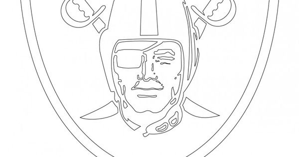 raiders coloring pages oakland raiders coloring pages logo vingel coloring raiders pages