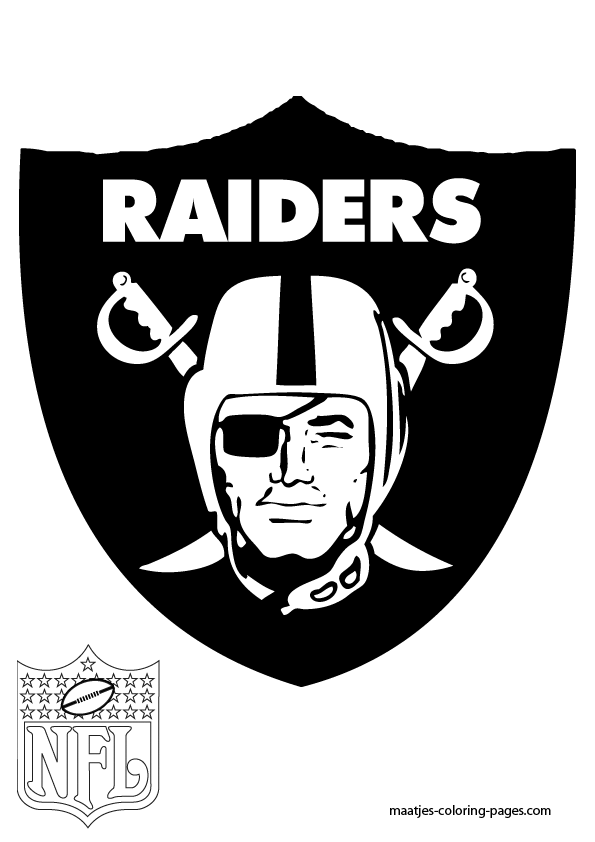 raiders coloring pages oakland raiders coloring pages logo vingel pages raiders coloring