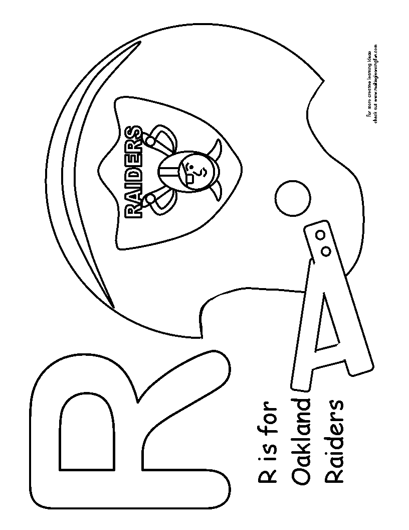 raiders coloring pages oakland raiders spongebob coloring pages pages raiders coloring