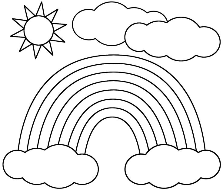 rainbow cat coloring page 17 best images about cat in the hat rainbow song colouring page rainbow cat coloring